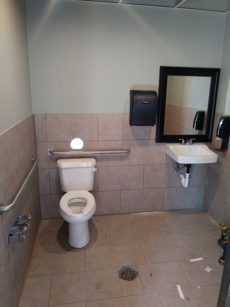 Commercial Bathroom Remodel